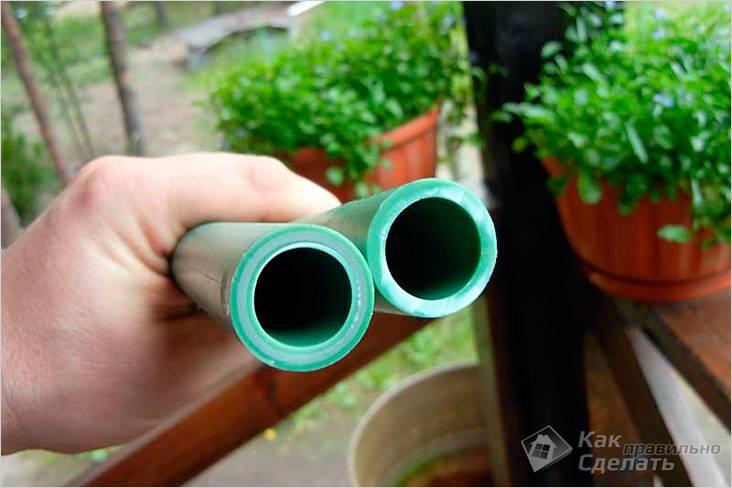 Сварка полипропиленовых труб своими руками