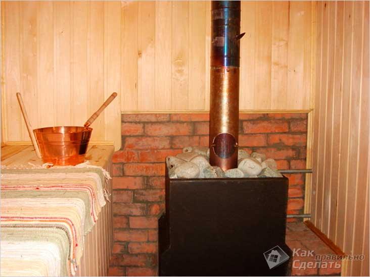 Банная печь-каменка «Бренеран»