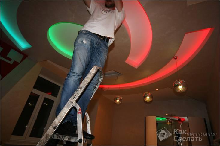 Цветная LED подсветка