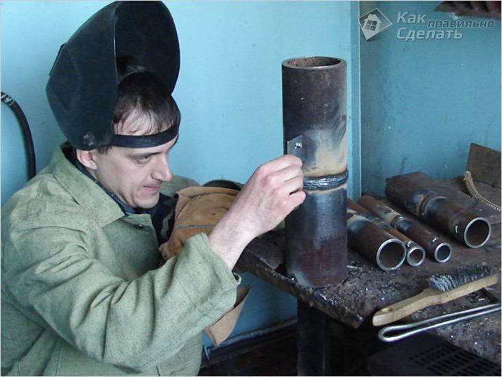 Электросварка металлических труб