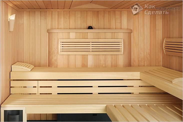 Как сделать стеллажи в бане