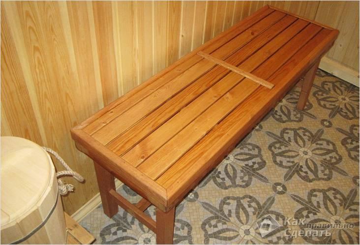 Мебель в баню