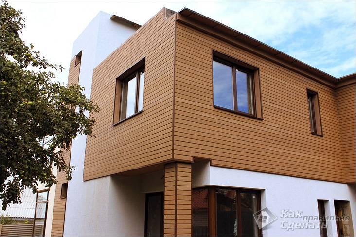 Вентилируемый фасад: планкен