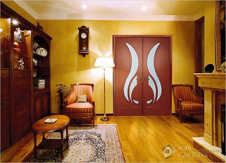 Двери установлены