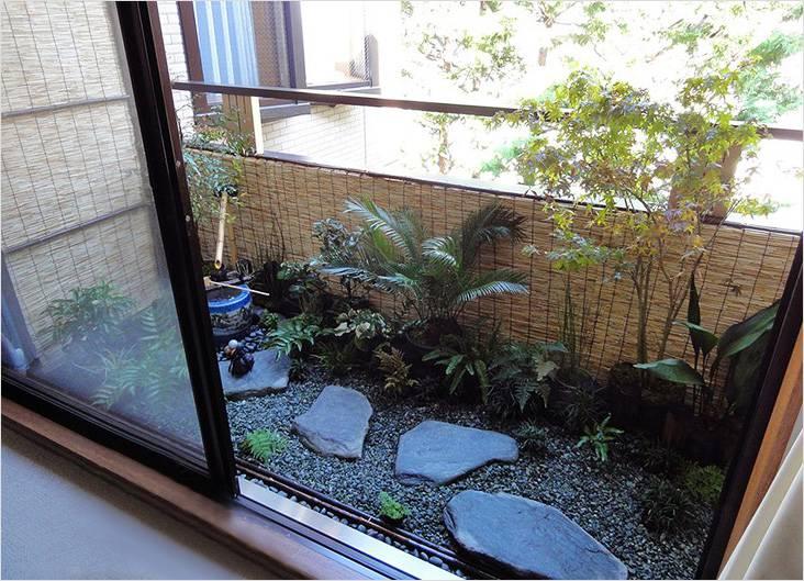 Кусочек настоящего сада можно спрятать на собственном балконе
