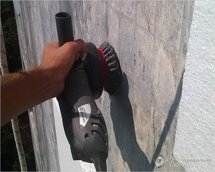 Подготовка стены для утепления фасада пенополистиролом