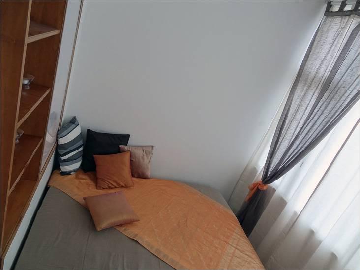 Спальню можно сделать вполне уютной