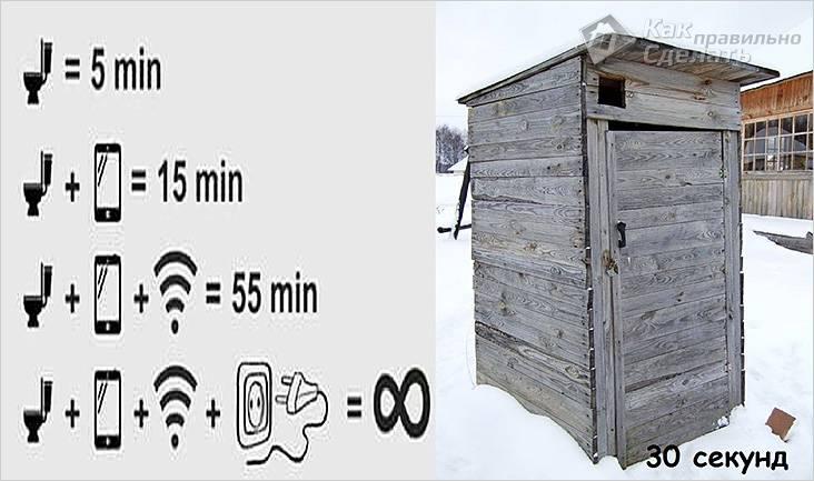 В таком туалете не уютно