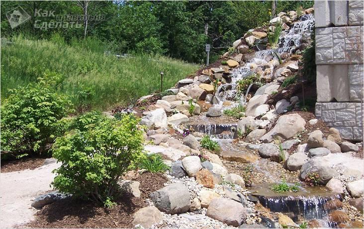 Водопад-ручей