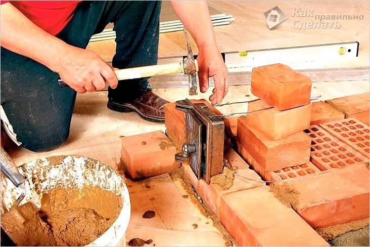 Как выложить кирпичную печь для бани своими руками