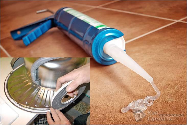 Лучше использовать герметик