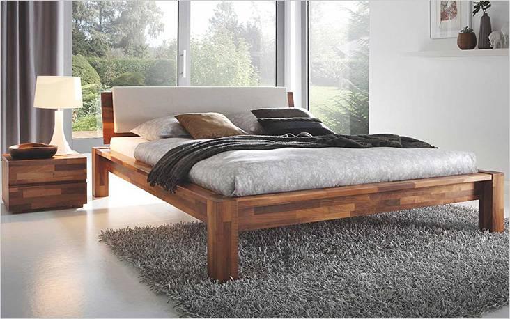 Применение срощенной доски при изготовлении кровати