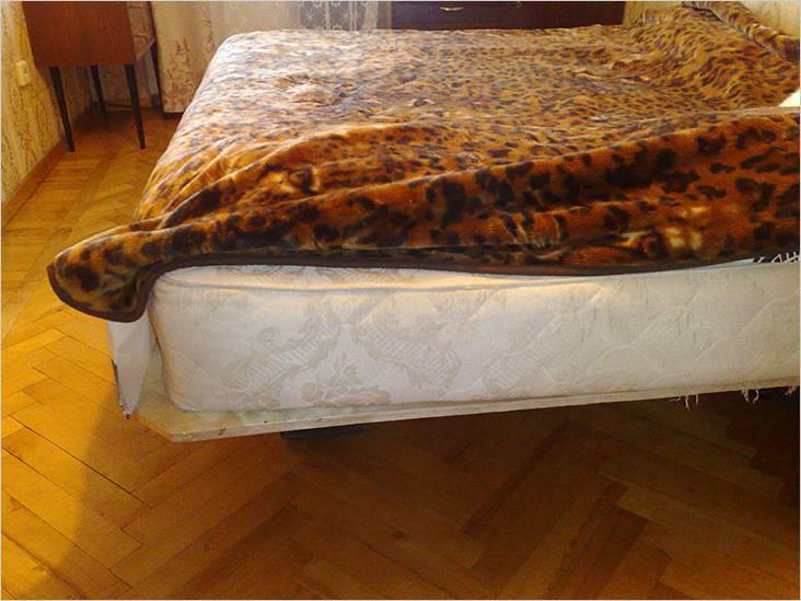 Упрощенный вариант кровати
