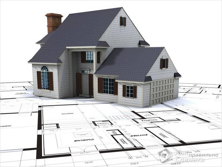 Фундамент под будущий дом