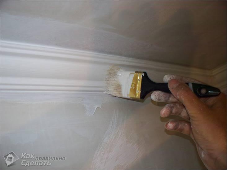 Как покрасить потолок своими руками фото