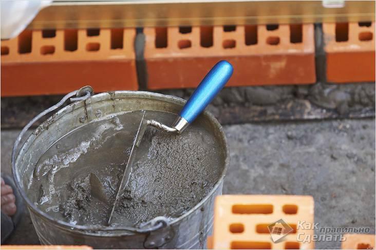 цементный раствор как правильно сделать
