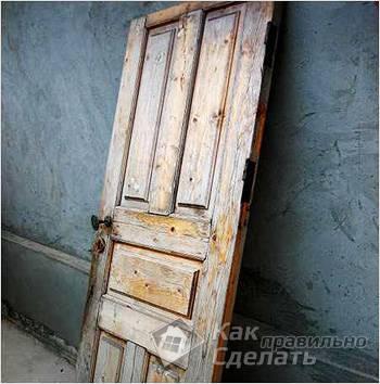 Рассыхание двери