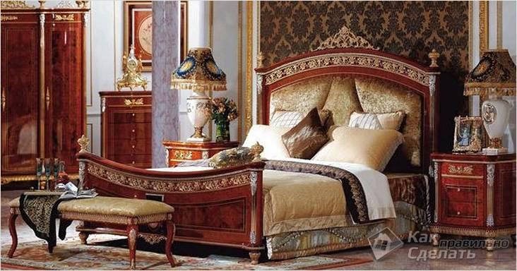 Роскошная спальня