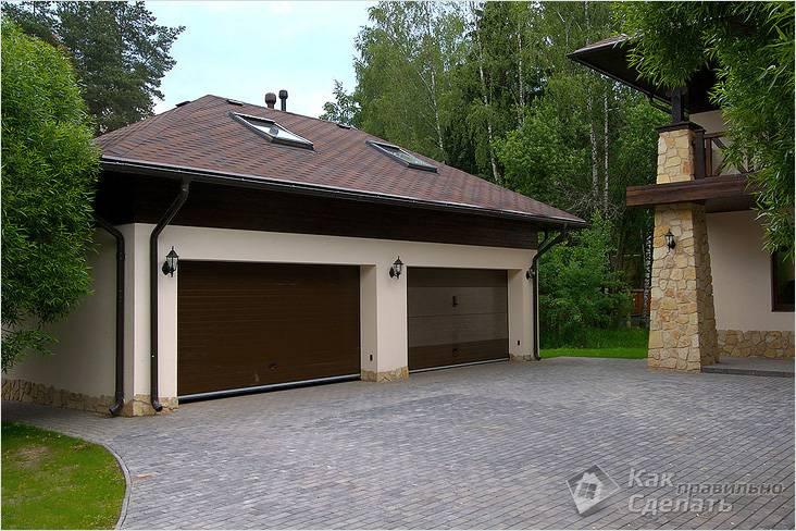 Строительство гаража своими руками - строим гараж