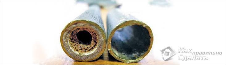 Сужение диаметра труб