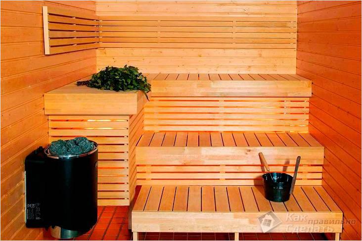 Как лучше сделать внутреннюю отделку бани