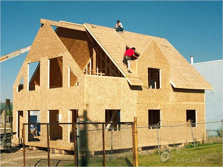 Каркасные дома из OSB