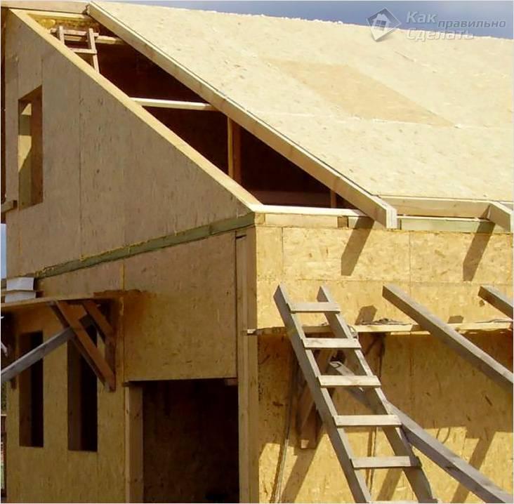 Крыша из сип