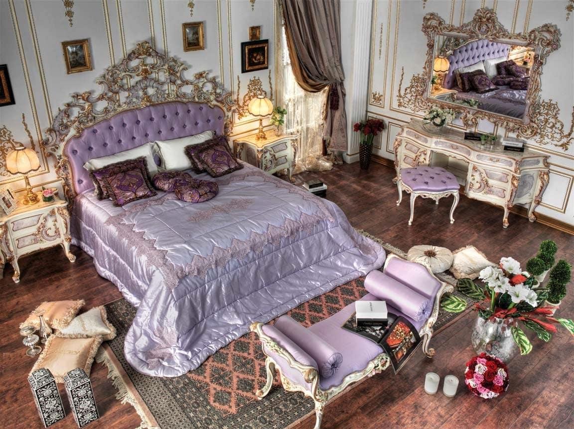 рококо в современной спальне
