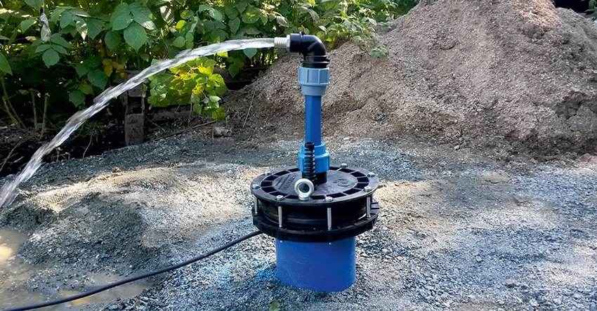 Как пробурить скважину на участке: способы и методы бурения