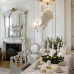 столовая в стиле рококо