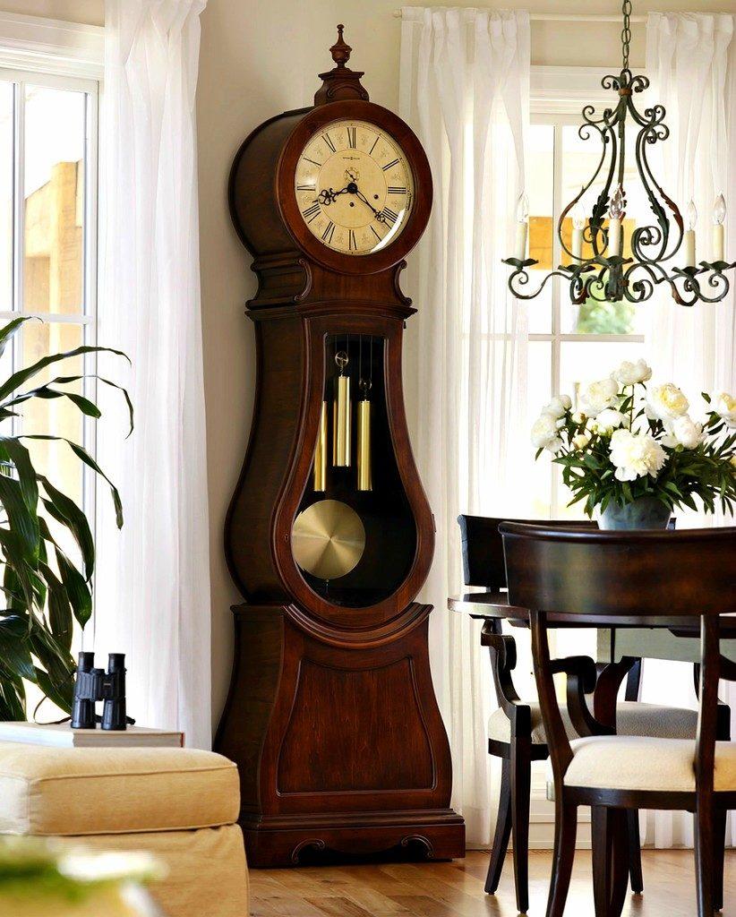 часы с маятником стиль рококо
