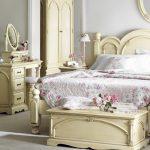 спальня в стиле рококо