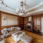 как оформить гостиную в стиле рококо