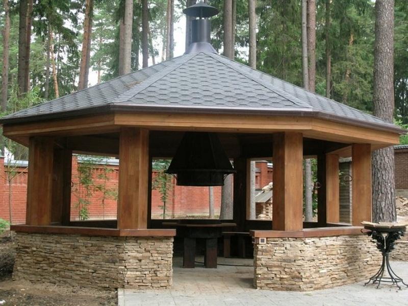 Крыша для беседки: инструкция по строительству своими руками