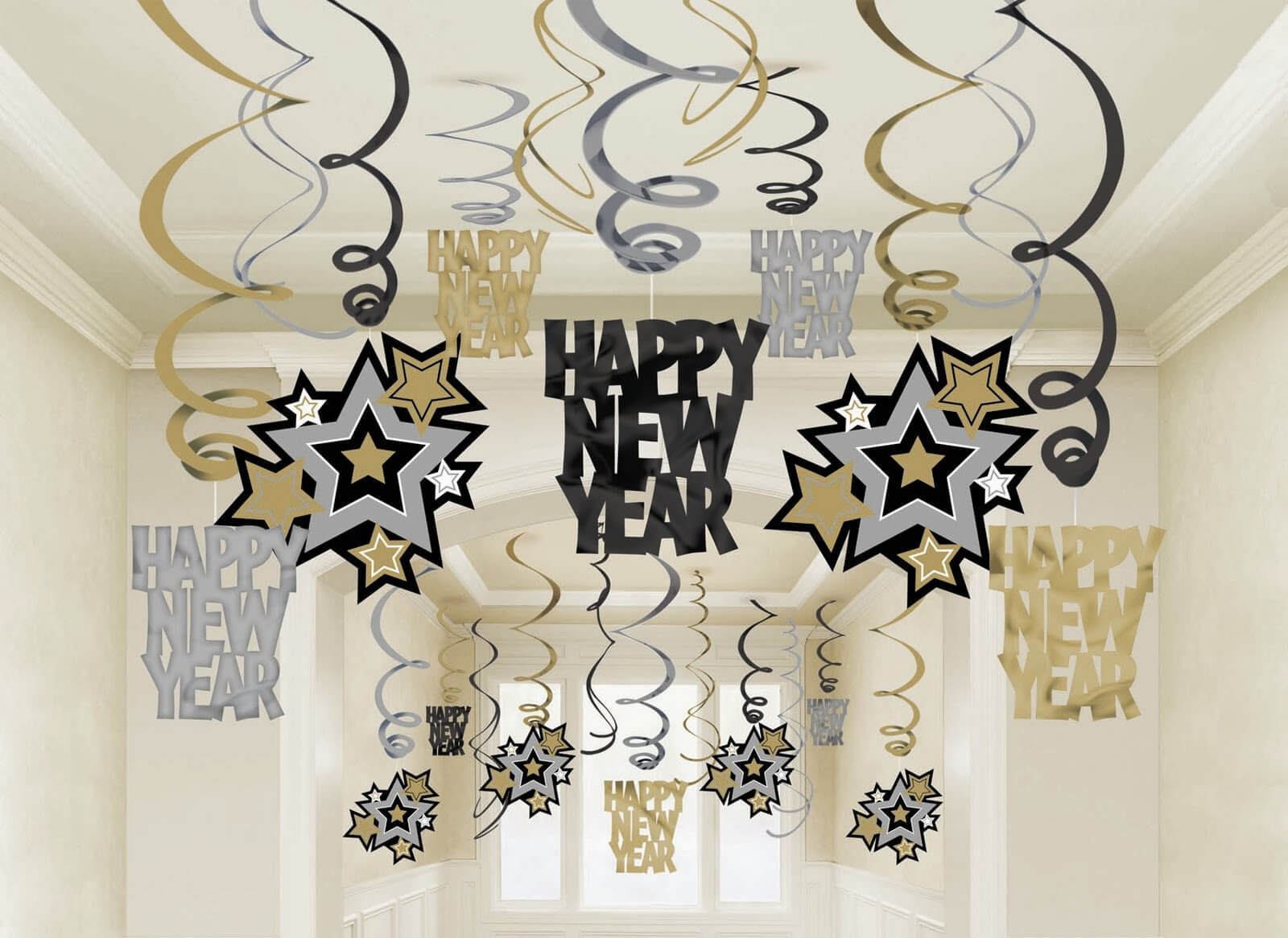 украшение офиса к новому году