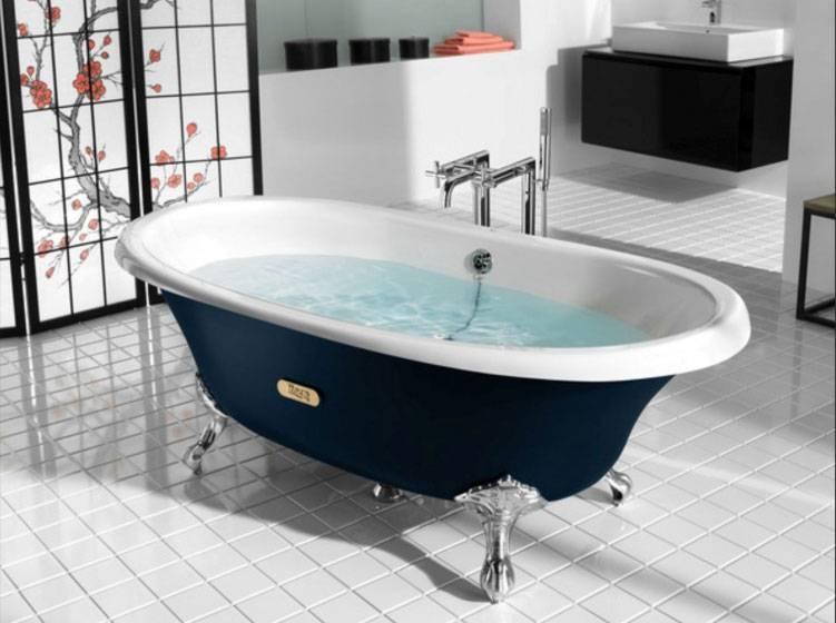 Чугунная ванна — преимущества для правильного выбора