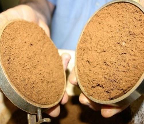 Как оценить влажность песка