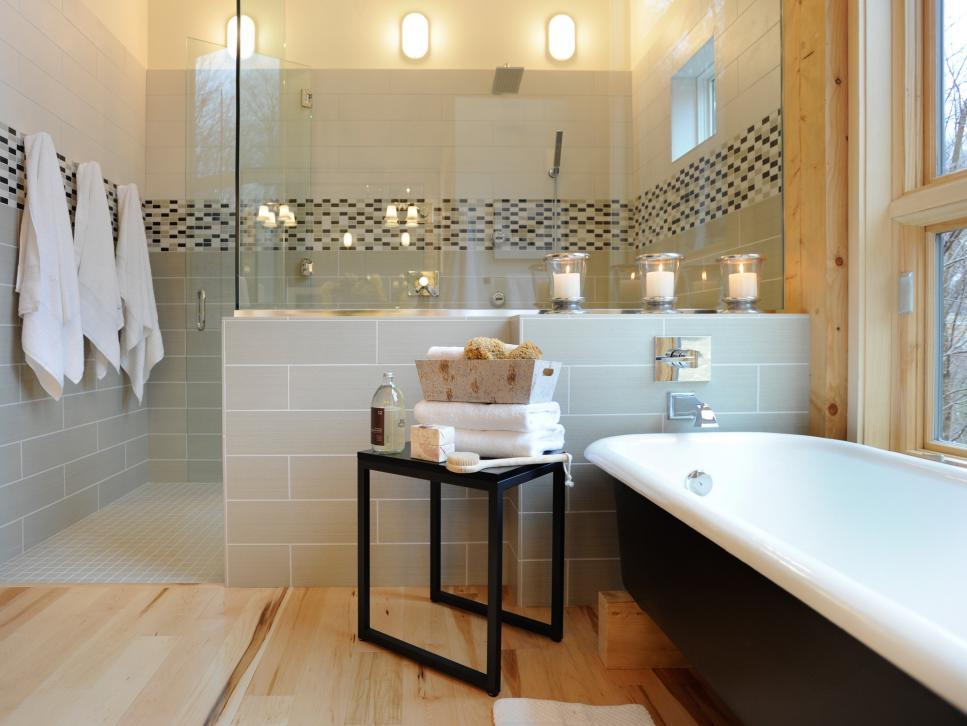 Как отделать стены и пол в ванной вашей мечты